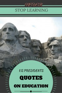 US Presidents Quotes on Education