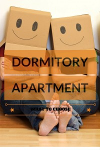 Dormitory vs Apartment