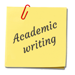 Academic writing assistance