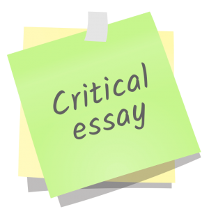 buy critical essay writing How to writer a critical essay with turninpaper helps you with critical essay writing so that your writing a critical essay becomes pain-free.